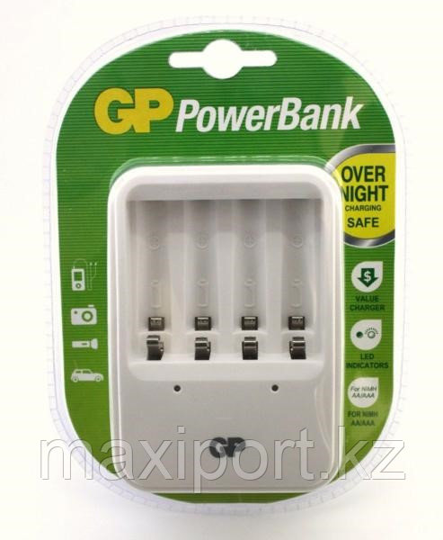 Зарядное устройство GP Power Bank PB420GS для AA и AAA