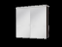 Зеркальный шкаф Ювента Мonza 90 900*750*150 (MnMC-90) венге