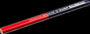 ЗУБР КС-2 Двухцветный строительный карандаш 180 мм