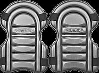 """Наколенники ЗУБР """"СТАНДАРТ"""" универсальные, резиновые, 2 в 1 - используется как наколенник и как вставка в"""
