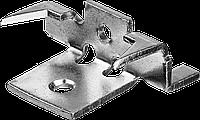 Крепеж с шипами и дистанциром для террасной доски Союз, 80 шт, ЗУБР, фото 1