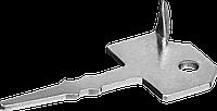 Крепеж Ключ с шипом для террасной доски 60 х 30 мм, 200 шт., ЗУБР, фото 1