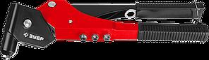 """Заклепочник поворотный 0-360°, ЗУБР """"МХ360"""" 31191, для заклёпок d=2,4-4,8 мм из алюминия и стали, литой корпус"""