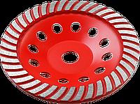 Турбо-Плюс ЗУБР чашка алмазная шлифовальная сегментированная 115 мм, МАСТЕР 180, 7900, фото 1