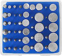 """Набор ЗУБР """"Профессионал"""": Мини-насадки с алмазным напылением в пластиковом боксе, Р 180, хвостовик 3мм, 50, фото 1"""