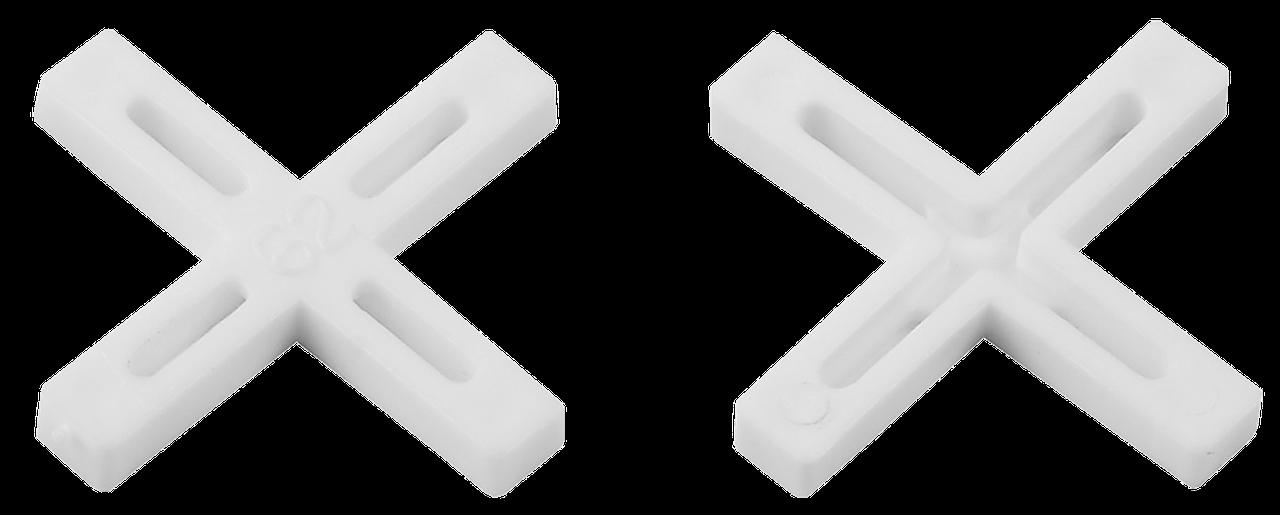 ЗУБР 1мм крестики для плитки, 200шт 200, 2