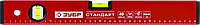"""Уровень ЗУБР """"СТАНДАРТ"""" коробчатый, 2 противоударные ампулы, 40см, фото 1"""