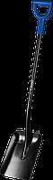 """Лопата """"АРТЕЛЬ"""" совковая, стальной черенок, с рукояткой, ЗУБР Профессионал, фото 1"""