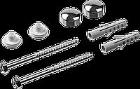 Набор для крепления унитазов, диаметр предварительного сверления - 8 мм, цвет xром, ЗУБР Профессионал