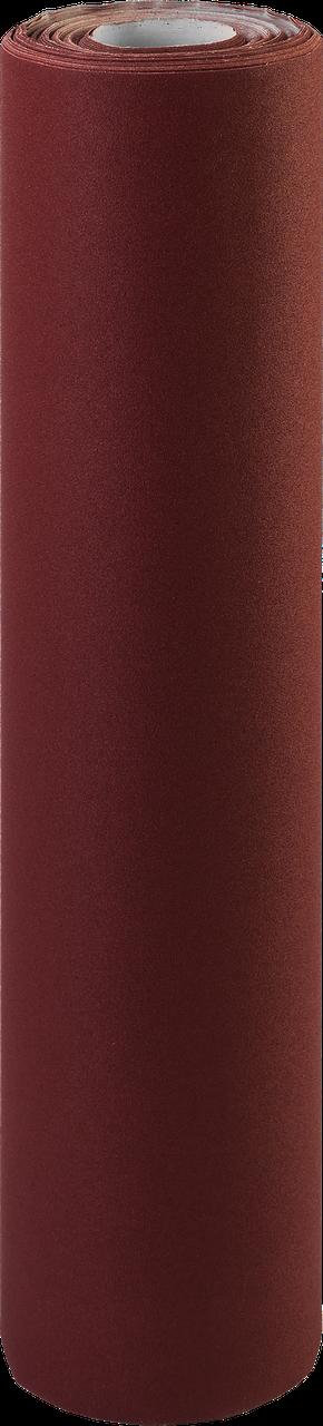Р40, 800 мм рулон шлифовальный, на тканевой основе, водостойкий, 30 м, ЗУБР Профессионал 120, Для