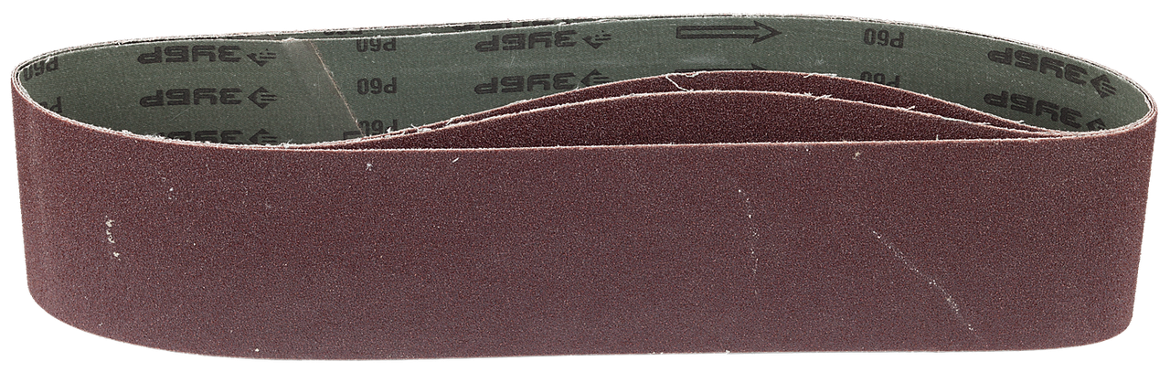 ЗУБР 100х914 мм, P60, лента шлифовальная МАСТЕР, для станка ЗШС-500, 3 шт.