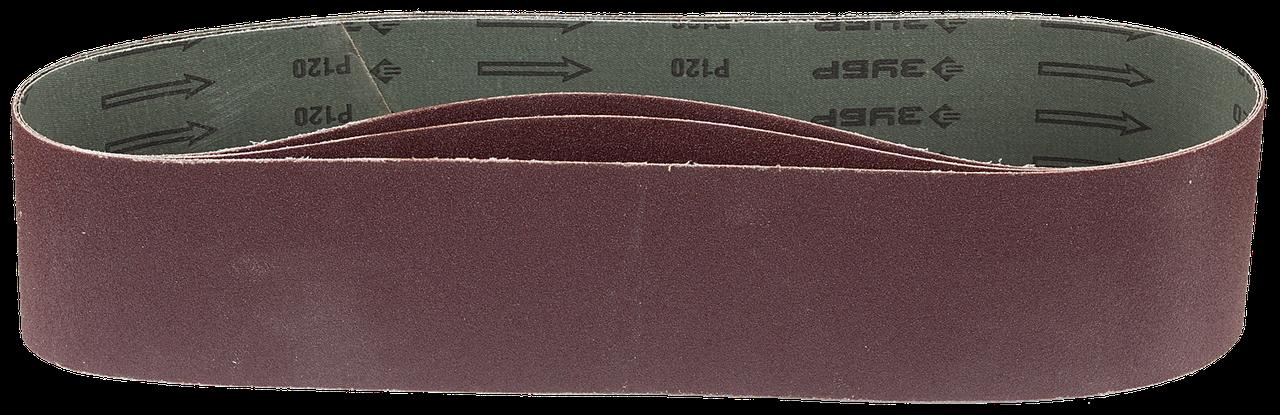 ЗУБР 100х914 мм, P60, лента шлифовальная МАСТЕР, для станка ЗШС-500, 3 шт. 120