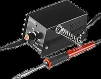 ЗУБР мини-паяльная станция,  100-450°C, 8Вт, фото 1
