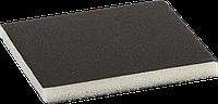 """Губка шлифовальная ЗУБР """"Мастер"""" двухсторонняя, мягкий поролон, Р180, 123х98х12мм"""