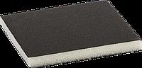"Губка шлифовальная ЗУБР ""Мастер"" двухсторонняя, мягкий поролон, Р180, 123х98х12мм Оксид Алюминия Р320"
