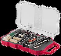 Набор мини-насадок ЗУБР для гравировальных машин, 70 предметов
