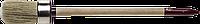 """Кисть круглая ЗУБР """"УНИВЕРСАЛ - МАСТЕР"""", светлая щетина, деревянная ручка, №2, 20мм 30"""