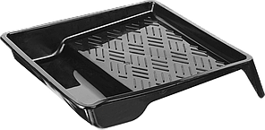 "Ванночка малярная ЗУБР ""СТАНДАРТ"" пластмассовая, для валиков до 110 мм, 290х150мм, 0,15 л 200, 0.25"