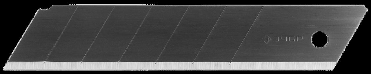 ЗУБР ОСОБООСТРЫЕ 25 мм сегментированные лезвия, 5 шт