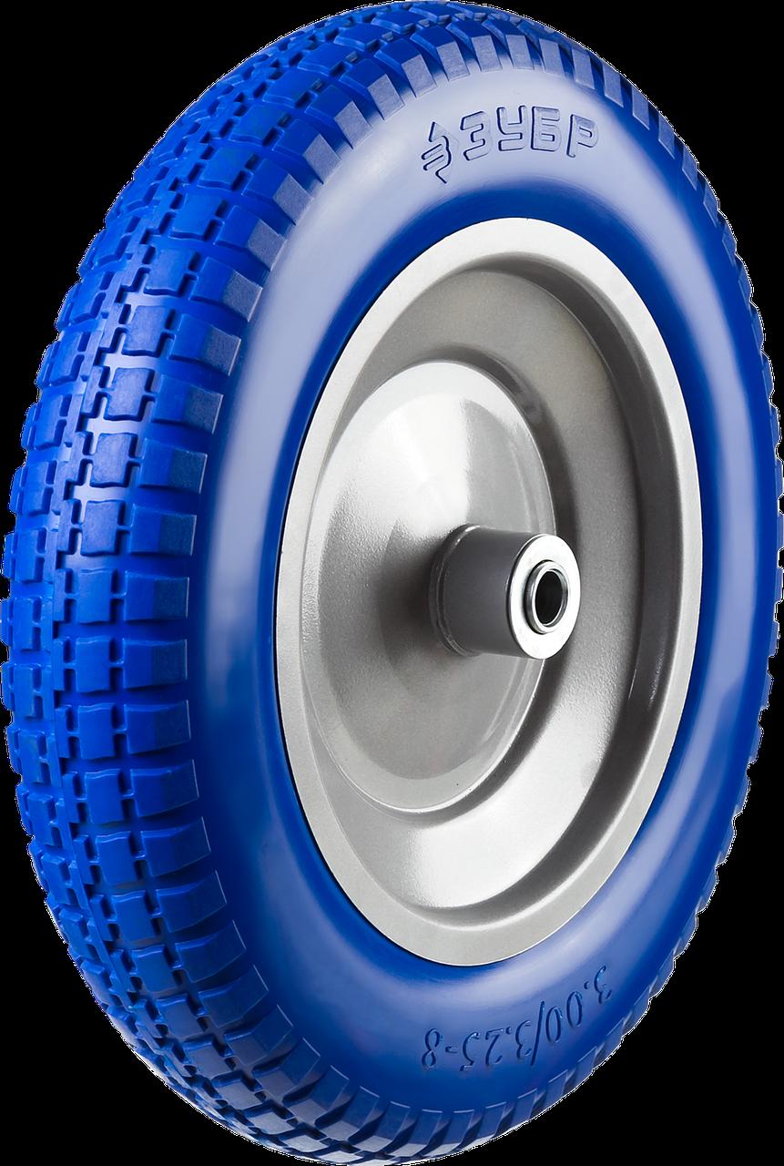 ЗУБР КПУ-1 колесо полиуретановое для тачки 39901,  350 мм
