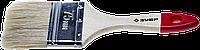 """Кисть плоская ЗУБР """"УНИВЕРСАЛ-СТАНДАРТ """", натуральная щетина, деревянная ручка, 75мм"""