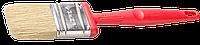 """Кисть плоская ЗУБР """"БСГ-50"""", с быстросъемной головой, натуральная щетина, пластмассовая ручка, 38мм"""