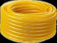 ЗУБР Шланг напорно-всасывающий со спиралью ПВХ, 10 атм, 19мм х 15м, фото 1