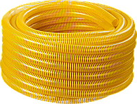 ЗУБР Шланг напорно-всасывающий со спиралью ПВХ, 10 атм, 19мм х 15м 360, 32, 15, фото 1