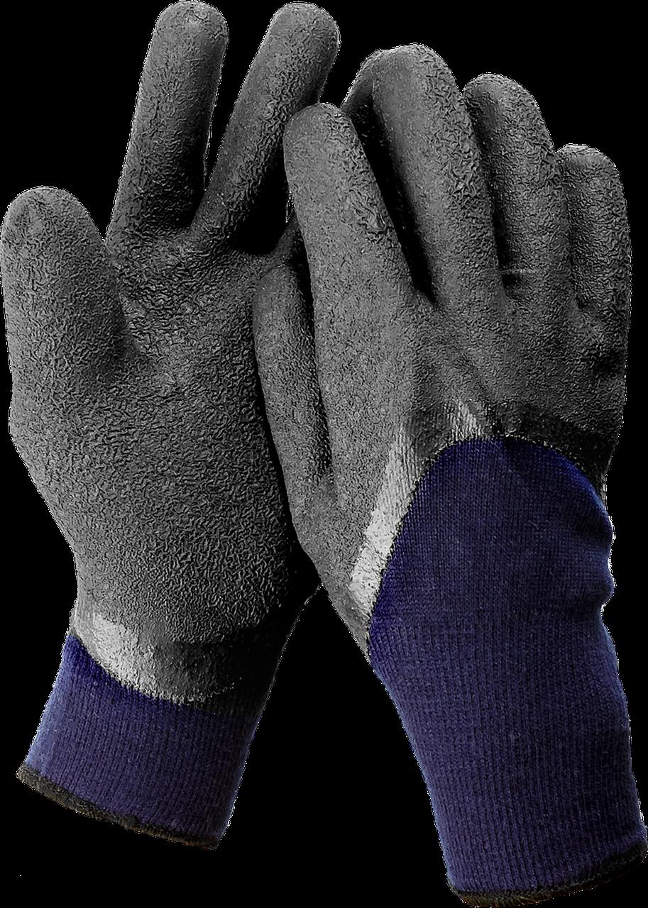 ЗУБР СИБИРЬ, размер L-XL, перчатки утепленные, двухслойные, акриловые.