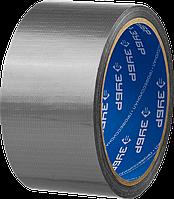 Армированная лента, ЗУБР Профессионал 12090-50-10, универсальная, влагостойкая, 48мм х 10м, серебристая, фото 1