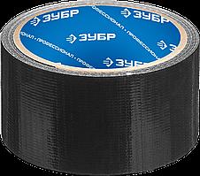 Армированная лента, ЗУБР Профессионал 12090-50-10, универсальная, влагостойкая, 48мм х 10м, серебристая 10,