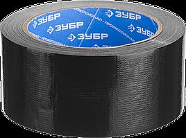 Армированная лента, ЗУБР Профессионал 12090-50-10, универсальная, влагостойкая, 48мм х 10м, серебристая 25,