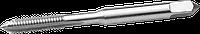 ЗУБР М6x1.0мм, метчик, сталь 9ХС, ручной