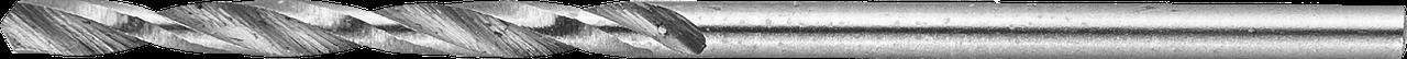 ЗУБР 1.7х43мм, Сверло по металлу, сталь Р6М5, класс В