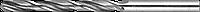 ЗУБР 1.7х43мм, Сверло по металлу, сталь Р6М5, класс В 5.7, 93, 57