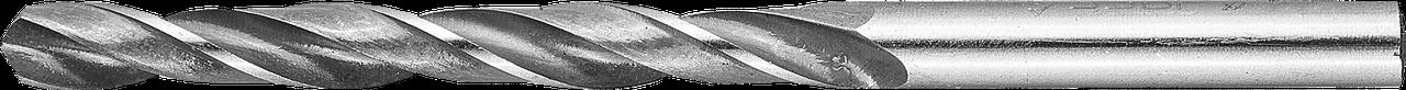 ЗУБР 1.7х43мм, Сверло по металлу, сталь Р6М5, класс В 6.3, 101, 63