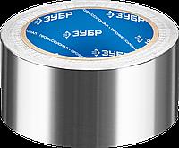 Алюминиевая лента, ЗУБР Профессионал 12262-50-10, до 120 °С, 60мкм, 50мм х 10м 25, 50