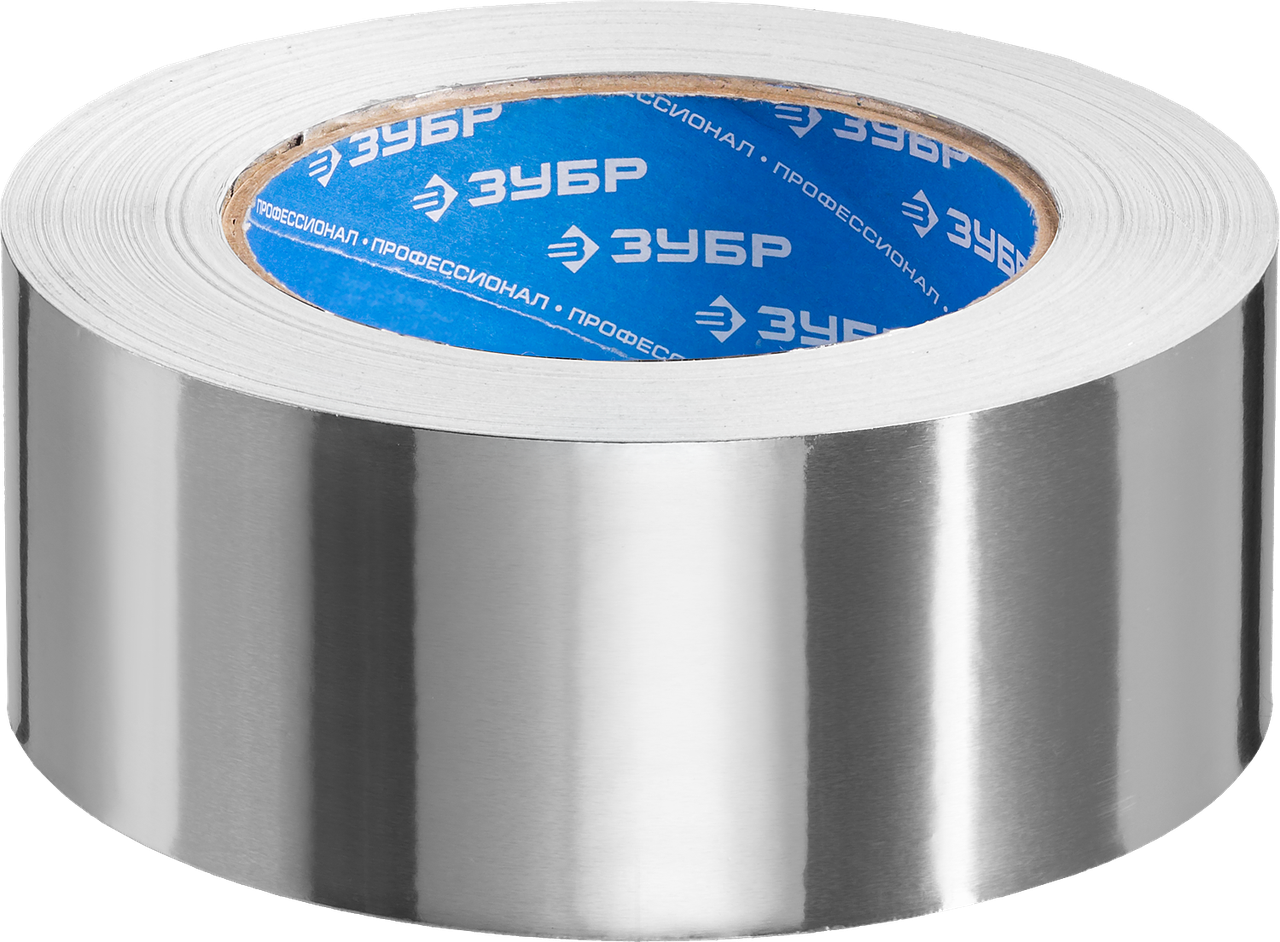Алюминиевая лента, ЗУБР Профессионал 12262-50-10, до 120 °С, 60мкм, 50мм х 10м 50, 50