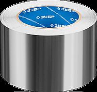 Алюминиевая лента, ЗУБР Профессионал 12262-50-10, до 120 °С, 60мкм, 50мм х 10м 50, 75