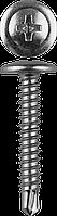 Саморезы ПШМ-С со сверлом для листового металла, 16 х 4.2 мм, 9 000 шт, ЗУБР 51, 3000