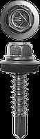 Саморезы СКМ кровельные, 25 х 5.5 мм, 1 800 шт, для металлических конструкций, ЗУБР Профессионал 38, 1500