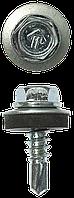 Саморезы СКМ кровельные, 19 х 5.5 мм, 500 шт, для металлических конструкций, ЗУБР Профессионал