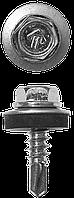 Саморезы СКМ кровельные, 19 х 5.5 мм, 500 шт, для металлических конструкций, ЗУБР Профессионал 32, 350