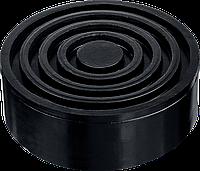 ЗУБР РШ-35 D105/H35мм опора резиновая для домкрата, Профессионал, фото 1