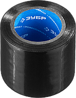 ЗУБР Х-50 черная изолента ПВХ,  50мм х 10м, фото 1