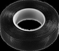 ЗУБР Вулкан черная самовулканизирующаяся изолента, 5м х 19мм, фото 1
