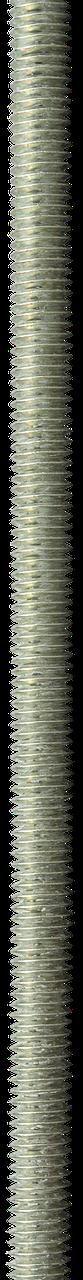 Шпилька резьбовая DIN 975, М6x1000, 1 шт, класс прочности 4.8, оцинкованная, ЗУБР