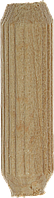 Шканты мебельные буковые, 8,0x35мм, 20шт, ЗУБР