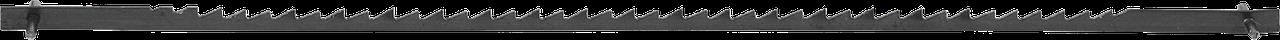 Полотно ЗУБР для лобзик станка ЗСЛ-90 и ЗСЛ-250, по тверд древисине, сталь 65Г, L=133мм, шаг зуба 2,5мм (10