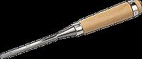 ЗУБР Классик стамеска-долото с деревянной рукояткой, 6мм 8